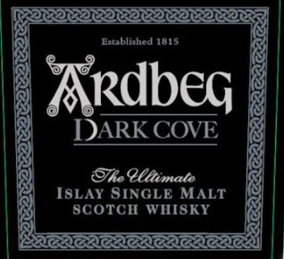 Ardbeg Dark Cove Label