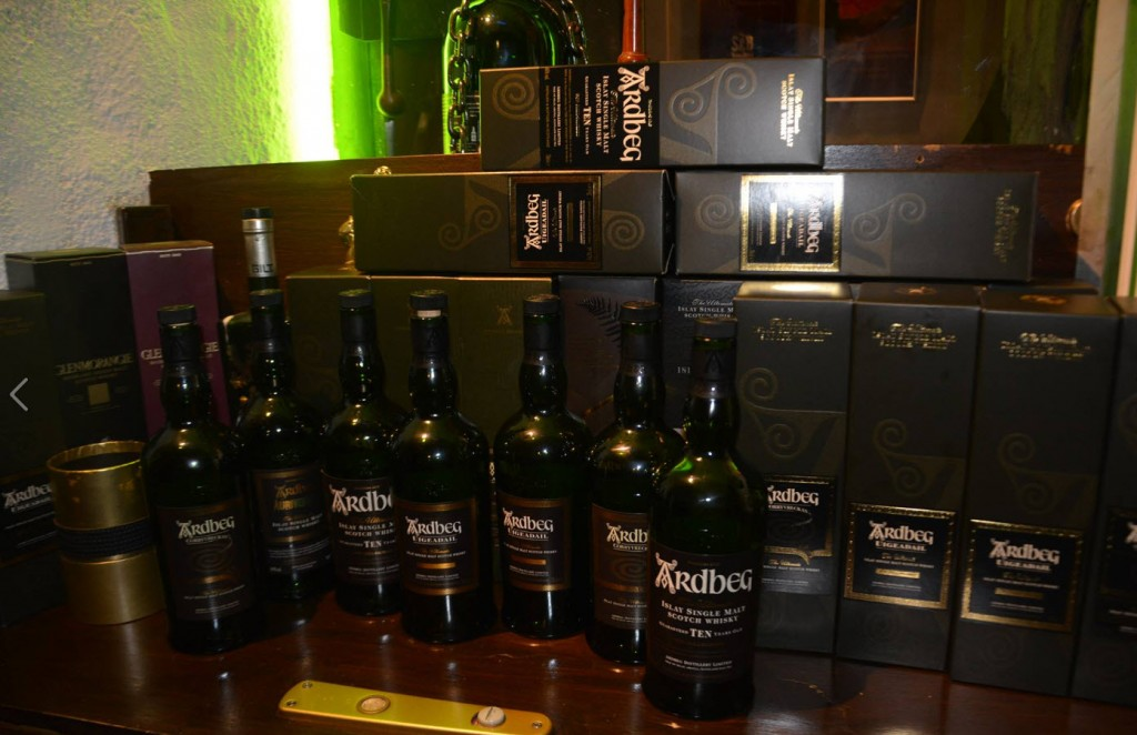 Ardbeg all over