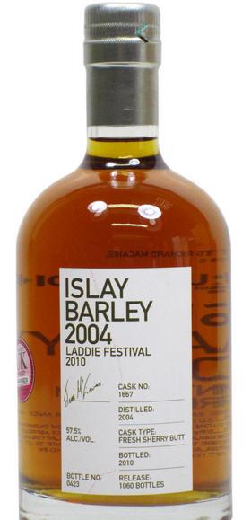 Bruichladdich Islay Barley 2004