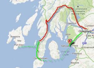 Glasgow to Islay