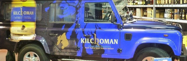 Kilchoman Landi in the shop