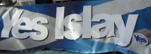 Yes Islay flag